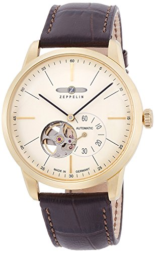 ZEPPELIN watch flat line Ivory dial automatic winding 73621 Men's [regular imported goods]