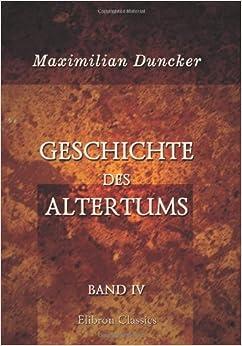 Geschichte des Altertums: Band IV