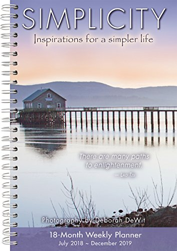 Simplicity 2019 18-Month Weekly Planner from Sellers Publishing