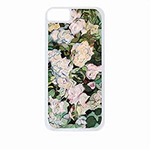 Vincent Van Gogh Ros the Apple Case For Samsung Galsxy S3 I9300 Cover Universal-Hard White Plastic Outer Shell with Inner Soft Black Hard Lining