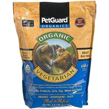 Pet Guard Vegetarian Dry Dog Food, 4.4-Pound Bag