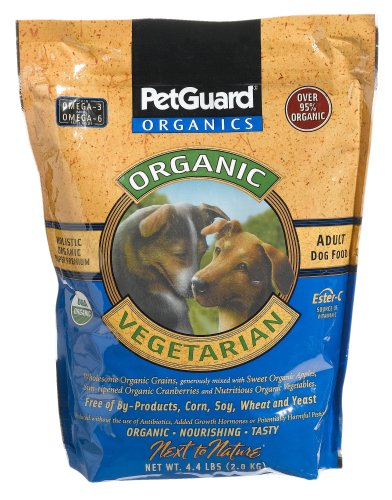 Pet Guard Vegetarian Dry Dog Food, 4.4-Pound Bag