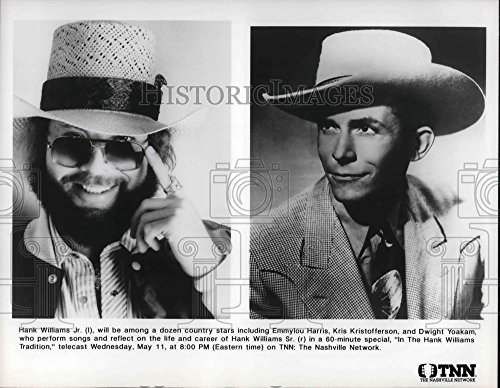 Press Photo Hank Williams Jr on In The Hank Williams Tradition - cvp30890 - 8 x 10.25 in. - Historic Images