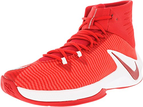 Nike Hommes Zoom Effacer Tb Chaussures De Basket Rouge