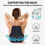 Gugusure Lumbar Support Pillow,Memory Foam Back