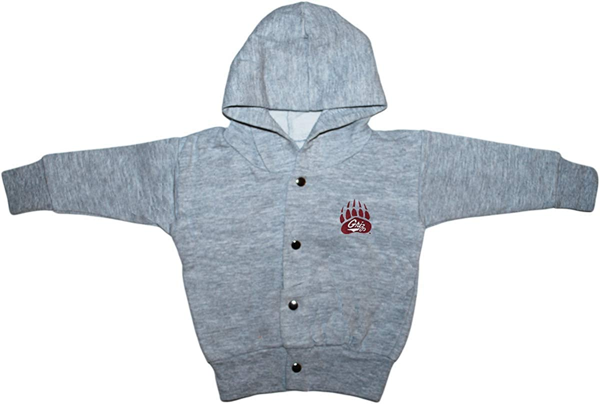 University of Montana Grizzlies Baby and Toddler Snap Hooded Jacket