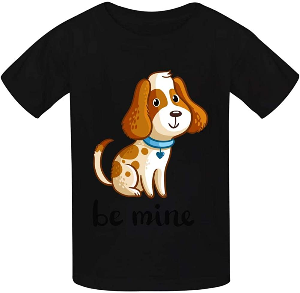 BE Mine Childrens Boy 100/% Cotton Print Short Sleeve T-Shirt
