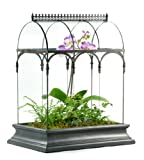 H Potter Glass Plant Terrarium Planter Container Wardian Case