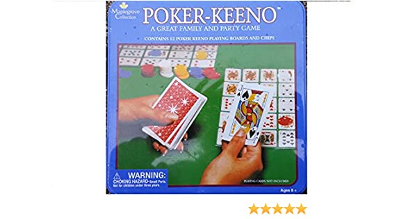 POKER - KEENO FAMILY PARTY GAME: Amazon.es: Juguetes y juegos
