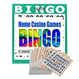 Punch-out Bingo Cards (250 Per Pack) Plus a Bonus Pack of 25 Free Cards (Total 275 Cards)