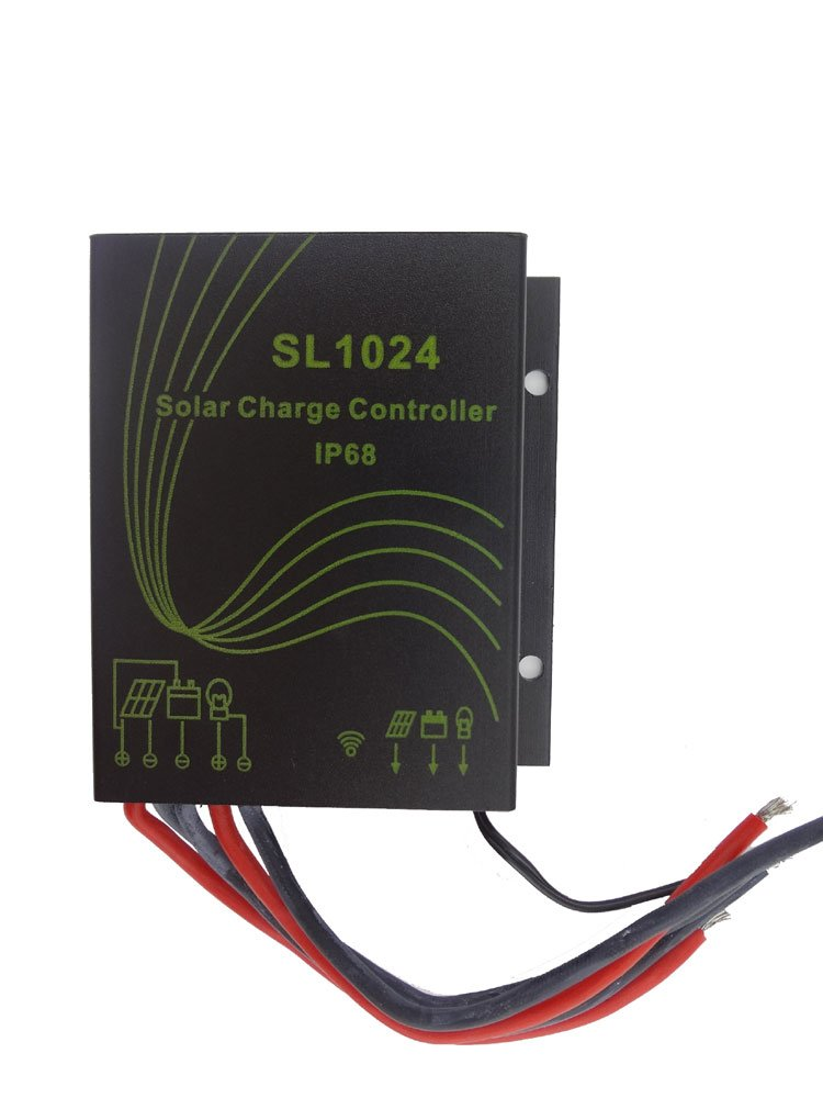 MISOL WATER PROOF solar regulator 10A,12 24V,solar charge controller for street light