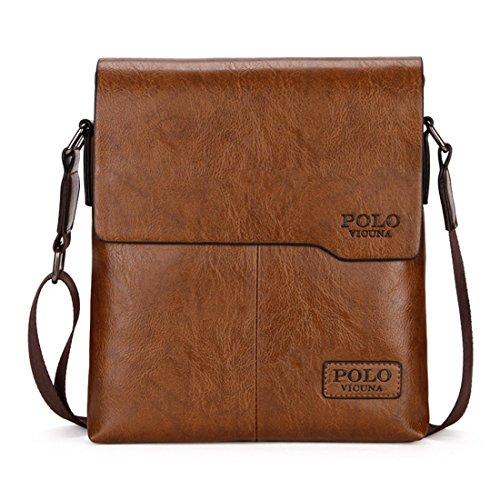 VICUNA POLO Shoulder Bag Business Man Bag Messenger Bag for