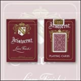 Bicycle Aristocrat 727 Bank Note Cards - Red