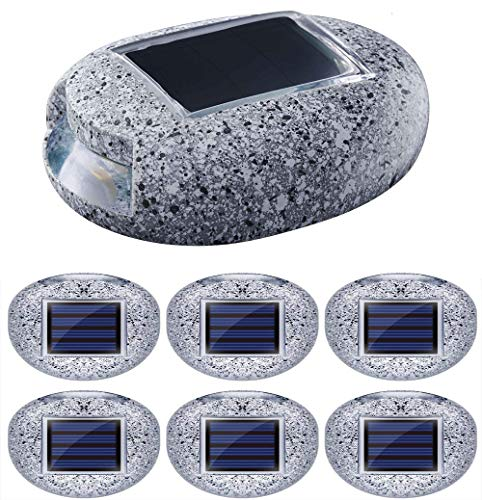 Stone Wall Solar Lighting in US - 7