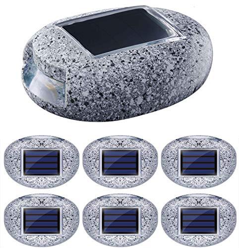 Stone Wall Solar Lighting in US - 1