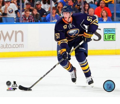 (Tyler Myers Buffalo Sabres 2013-2014 NHL Action Photo 8x10)