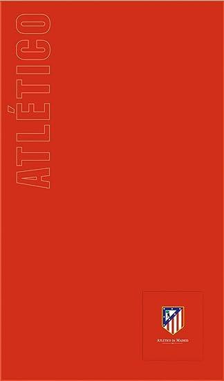 Atlético de Madrid Toalla de Playa Oficial - Con Bolsillo - Tamaño 160x100cm. Toalla de Calidad.: Amazon.es: Hogar