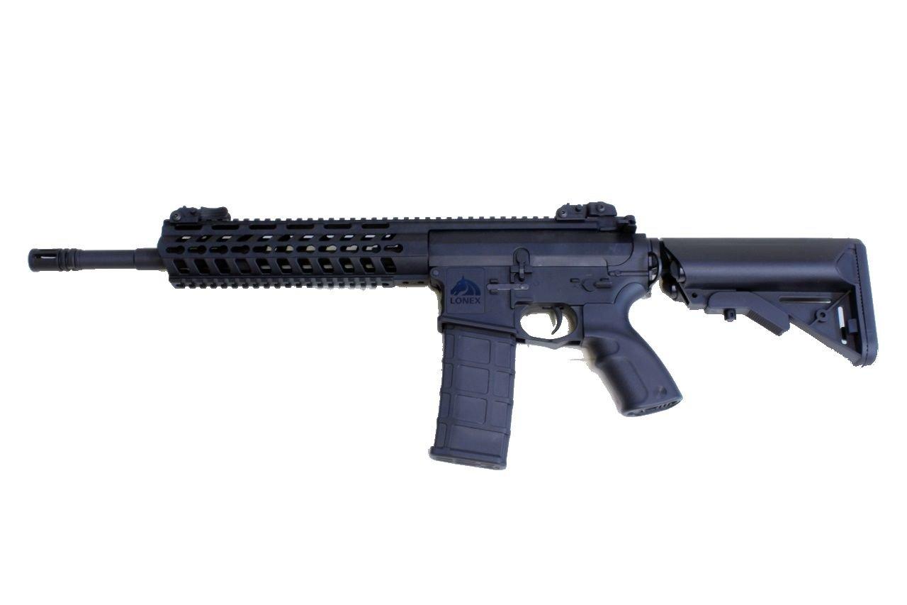 LONEX アサルトライフル14.5(ブラック)(電動ガン) B079JXCR79