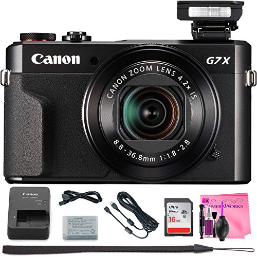 Canon PowerShot G7 X Mark II Digital Camera w/1 Inch Sensor