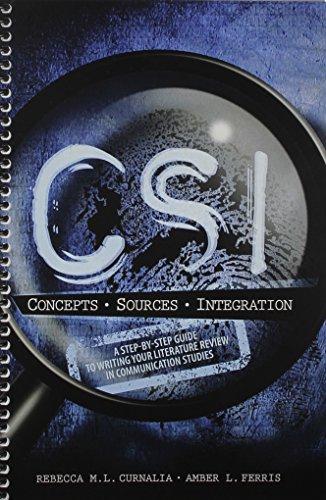 Csi:Concepts*Sources*Integration