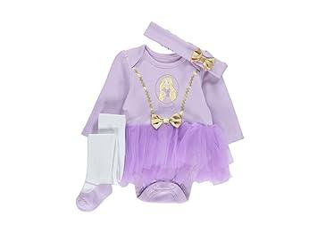 Girls Disney Princess Baby Rapunzel Fancy Dress Costume