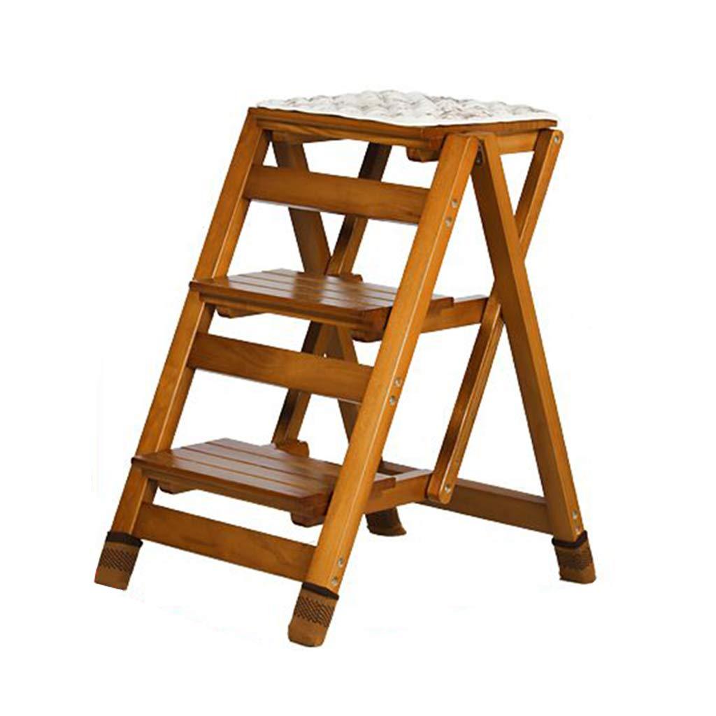 Wondrous Amazon Com Stairway Chair 3 Steps Stool Folding Stepladder Ibusinesslaw Wood Chair Design Ideas Ibusinesslaworg