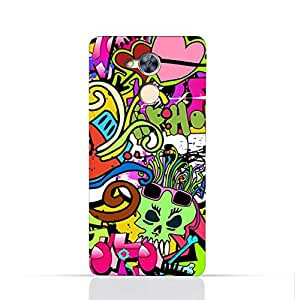Huawei Honor 6A TPU Silicone Case With Graffiti Hip Hop 2 Design