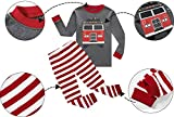IF-Pajamas-Fire-Truck-Baby-Boys-Long-Sleeve-Pajamas-Sets-100-Cotton-Sleepwears-Toddler-Kids-Pjs-infant-Size-18-24-Months
