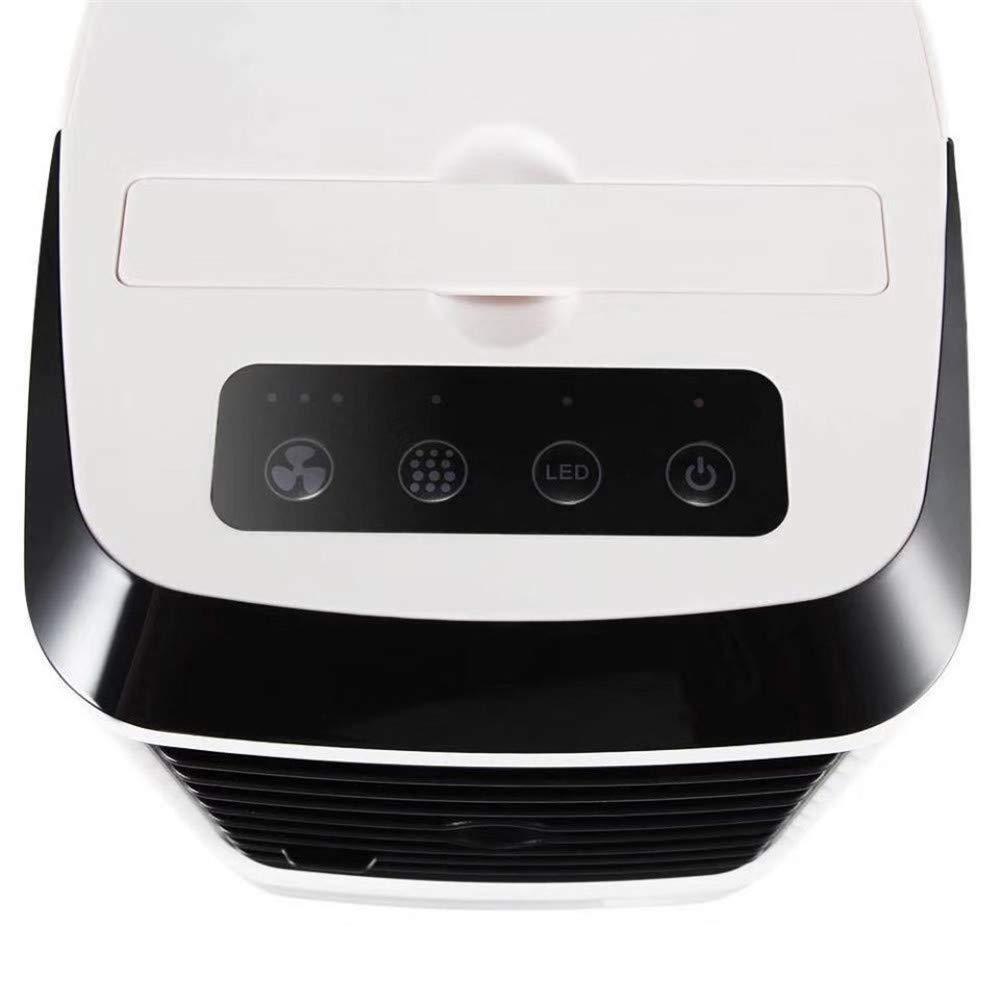 wetwgvsa Climatiseur Portable Refroidisseur dair 3 R/églable Air Climatiseur 7 LED Couleurs Mini Refroidisseur dair pour Bureau Accueil Voyage en Plein Air