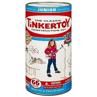 Tinkertoy Classic Construction Set: Junior Builder: Toys & Games