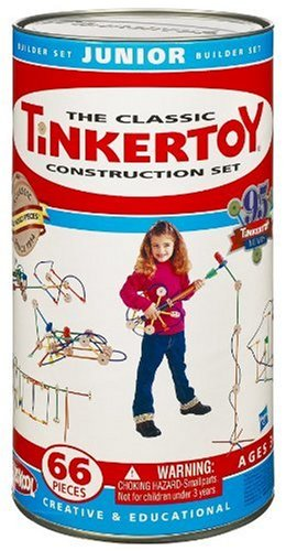Builder Junior Set (Tinkertoy Classic Construction Set: Junior Builder)