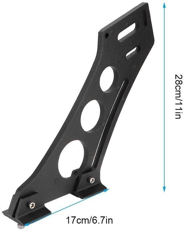 KSTE 10 Universal Car CNC Aluminum Alloy Rear Wing Trunk Racing Tail Spoiler Legs Mount Brackets