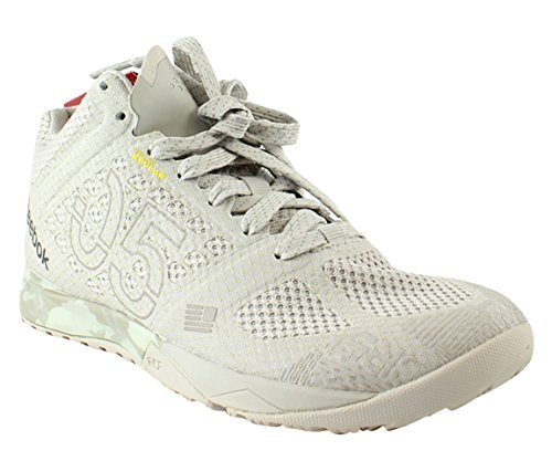 Reebok Crossfit Nano 5 0 Mid Shoes   Sand Stone   Beach Stone   Chalk   Parchment   Womens   6