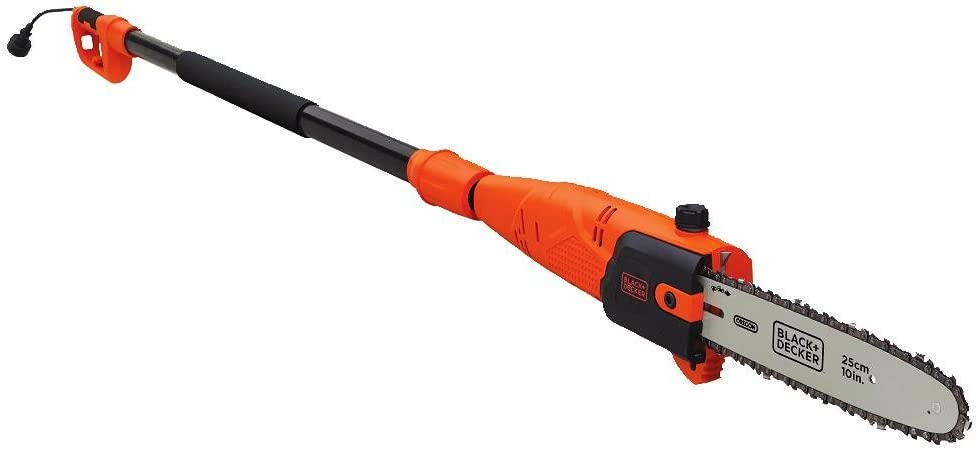 BLACK DECKER Pole Saw, Corded, 6.5-Amp, 10-Inch PP610