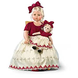 Linda Rick Faith And Hope Child Doll: She's Almost 3 Feet High And Limited To 1,000 Pieces by Ashton Drake
