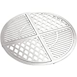 """Skyflame 4 pieces Cooking Grates Kit for 22.5"""" Kettle Style Grills, Cast Stainless Steel"""