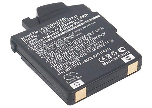 Cameron Sino 270mAh Battery for Sennheiser BA 370 PX, Sennheiser MM 450, Sennheiser PXC 310, PXC 310 BT, MM 400, 450 Travel, 550 Travel
