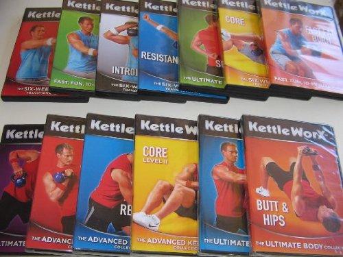 Kettleworx Ultra 10 DVD set - Six Week Body Transformation