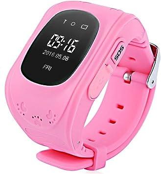 Niños Reloj Inteligente GPS Rastreador Localizador Anti-Lost ...