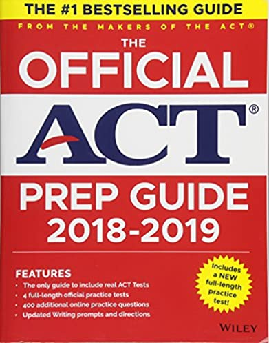 Best of act 1st ed array amazon com the official act prep guide 2018 19 edition book rh fandeluxe Images