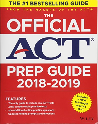 The Official ACT Prep Guide, 2018-19 Edition (Book + Bonus Online Content) cover