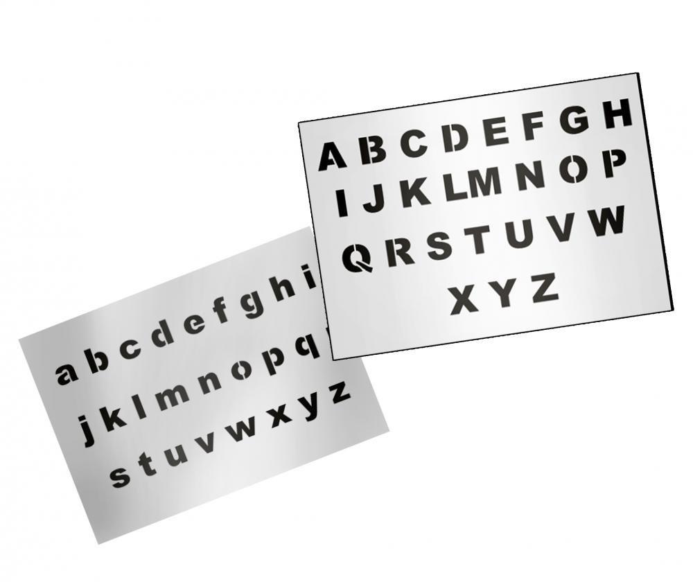 umr-design as-124 Schrift Airbrushschablone L AS-124 L L  B01BGOBIB8
