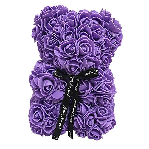 Radient Rose Bear Toy Simulated Romantic Foam Bear Dolls Lovely Girlfriend Artificial Rose Valentines Day Gift Decorations Love Rich And Magnificent Event & Party