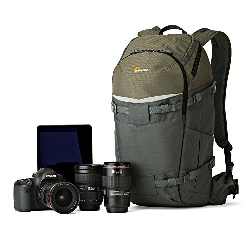 Lowepro Flipside Trek BP 350 AW. Large Outdoor Camera Backpack for DSLR and DJI Mavic Pro Drone w/ Rain Cover and Tablet Pocket by Lowepro (Image #2)