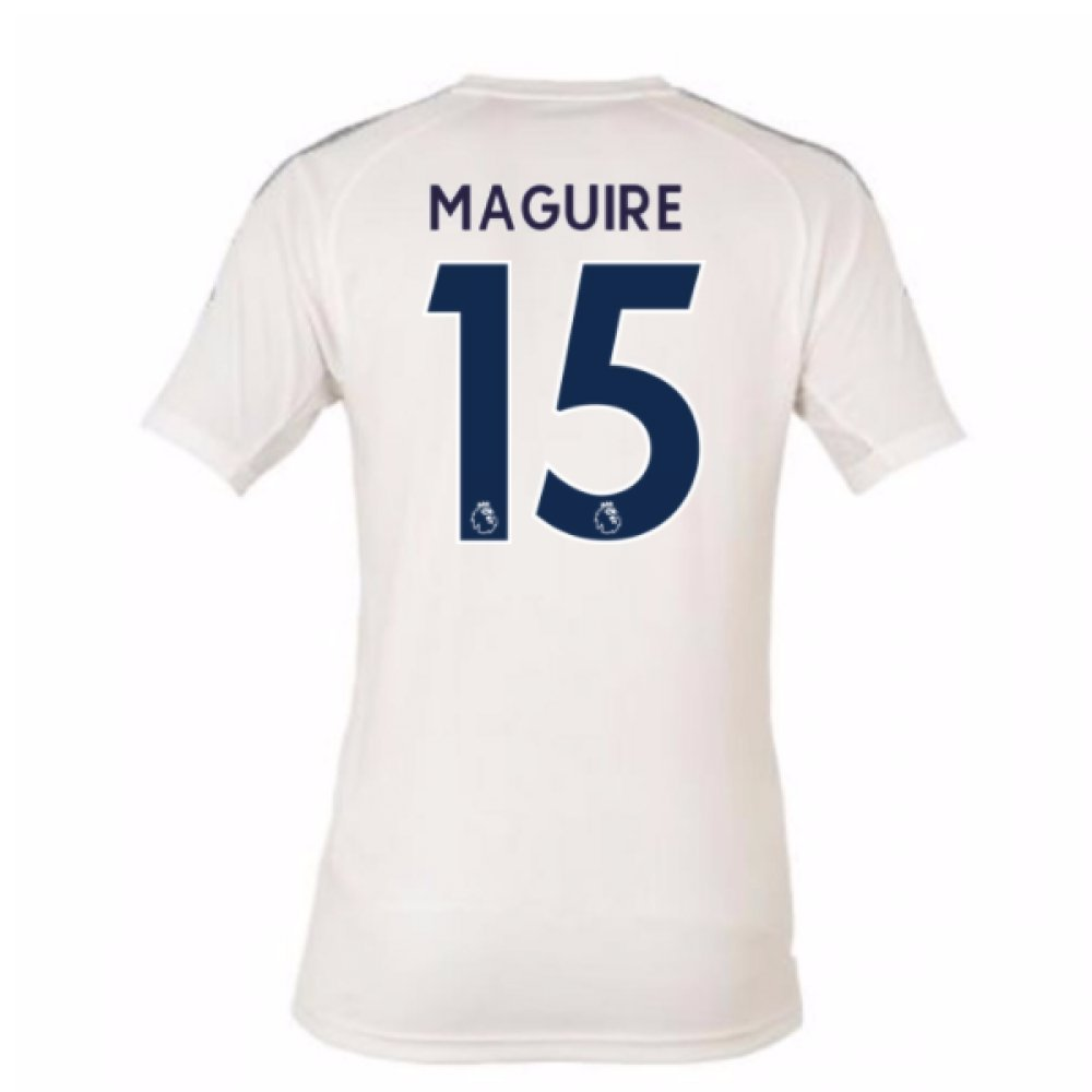 2017-18 Leicester City Third Football Soccer T-Shirt Trikot (Harry Maguire 15) - Kids