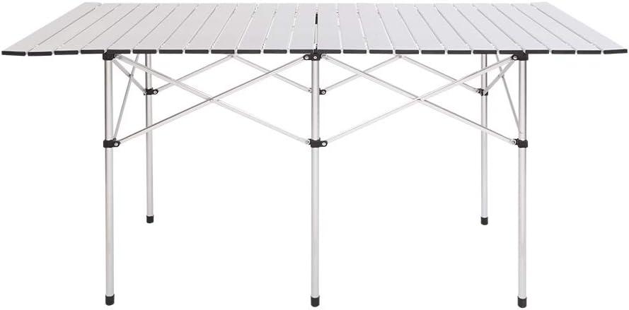 Gharpbik 140 70 70cm Rectangular Camping Table Camp Table Foldable Outdoor Desk