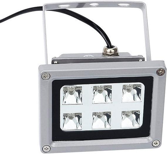 Luz de curado de Resina UV 405 NM lámpara LED fotosensible sólida ...