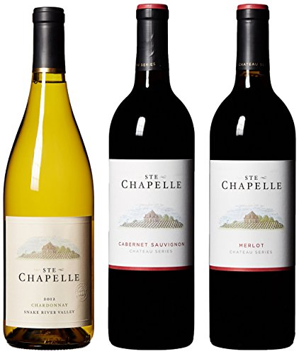 "Ste Chapelle Chateau Series ""An Idaho Tradition"" Mixed Pack, 3 x 750 mL"