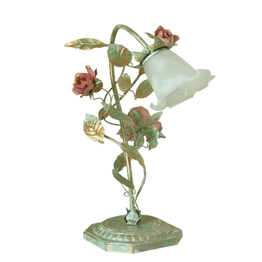 Table Lamp European LOFT Garden Flower Decoration Lamp