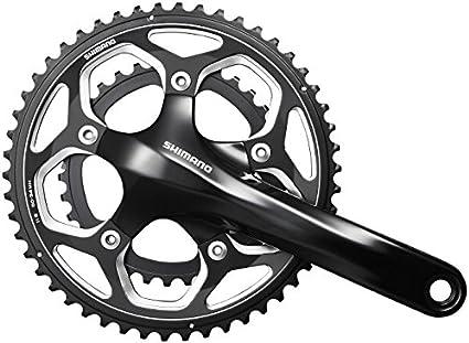 Shimano fc-rs500 manivelle 175 mm 52//36 Dents holllowtec 2 Vélo De Course Noir-Neuf